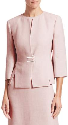 Akris Punto Anais Three-Quarter Sleeve Jacket