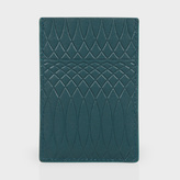 Paul Smith No.9 - Petrol Leather Credit Card Holder