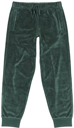 Carhartt Wip Green velour sweatpants