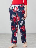 Joules Snooze Classic Floral Pyjama Pants - Navy Floral
