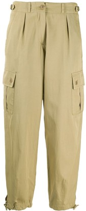 Aspesi Tapered Cargo Trousers