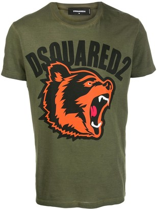 DSQUARED2 bear print T-shirt