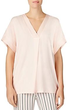 Donna Karan Short-Sleeve Dolman Top