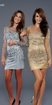 Lara Dresses - 21925 in Gold