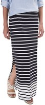 Specially made Stretch-TENCEL® Striped Maxi Skirt (For Women)