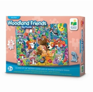 The Learning Journey My First Big Floor Puzzle- Woodland Friends