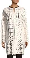 MSGM Cutout Cotton Coat