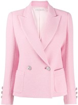 Alessandra Rich double-breasted fitted blazer