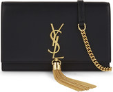 Saint Laurent Monogram kate leather clutch