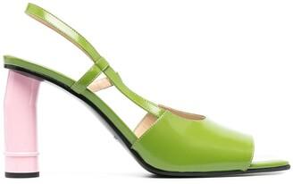 Nina Ricci Strappy High-Heel Sandals