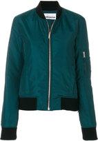 Paco Rabanne zipped bomber jacket