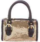 Badgley Mischka Chain-Mail Crossbody Bag