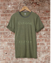 Express one eleven window graphic t-shirt