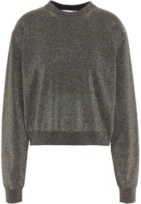 Lanvin Cotton-blend Lurex Sweater
