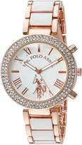 U.S. Polo Assn. Women's Quartz White Dress Watch