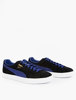 Puma Black Suede Clyde Sneakers