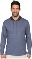 Tommy Bahama Heather Cotton Modal Jersey Long Sleeve Hoodie