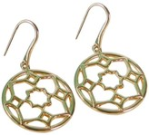 Tiffany & Co. Paloma Picasso 18K Zellige Medallion Drop Dangle Earrings