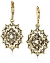 lonna & lilly Womens Tone Cry Drop Earrings