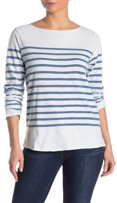 Faherty BRAND Francoise Striped Long Sleeve T-Shirt