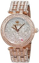 Juicy Couture Cali Women's Quartz Watch with Gold Dial Analogue Display and Gold Stainless Steel Bracelet 1901377