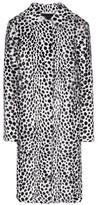 Givenchy Printed Fur Coat