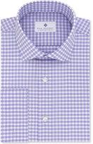 Ryan Seacrest Distinction Ryan Seacrest DistinctionTM Men's Slim-Fit Non-Iron Grappa Check French Cuff Dress Shirt, Created for Macy's