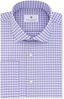 Ryan Seacrest Distinction Ryan Seacrest DistinctionTM Men's Slim-Fit Non-Iron Grappa Check French Cuff Dress Shirt, Only at Macy's
