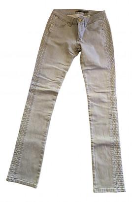 Superfine Grey Cotton - elasthane Jeans