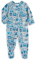 Infant Boy's Tucker + Tate Print One-Piece Pajamas