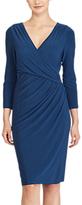 Lauren Ralph Lauren Wrap Jersey Dress
