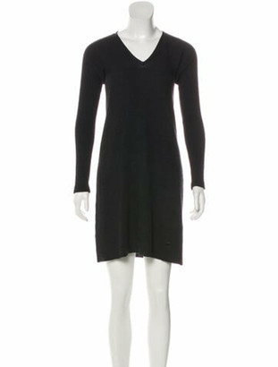 Louis Vuitton Long Sleeve Mini Dress