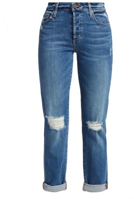 Joe's Jeans The Niki High-Rise Distressed Jeans