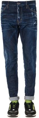 DSQUARED2 Cool Guy Blue Denim Cotton Jeans
