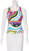 Emilio Pucci Sleeveless Scoop Neck T-Shirt