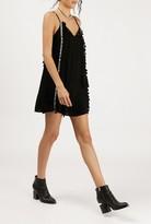 Azalea Ribbon Trim Tassel Sleeveless Dress