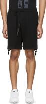 11 By Boris Bidjan Saberi Black Drawstring Shorts