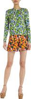 Marc Jacobs Floral Sweatshirt