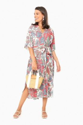 Cara Cara Bird Paisley Ivory Hobbs Dress