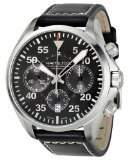 Hamilton Men's H64666735 Leather Swiss Automatic Watch with Dial