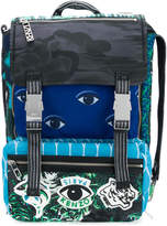 Kenzo eye motif backpack