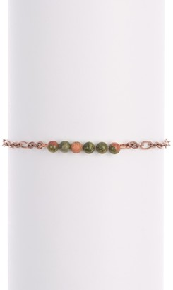 Alex and Ani Gemstone Bead Bracelet