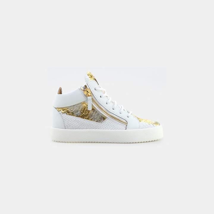 Giuseppe Zanotti Kokis Crocodile Print Sneaker