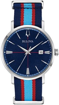 Bulova Men's Aerojet Analog Quartz Watch, 39mm