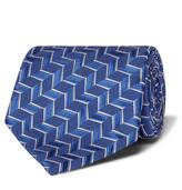 Charvet 8.5cm Woven Silk Tie