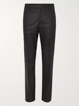 Bottega Veneta Cashmere-Blend Flannel Trousers