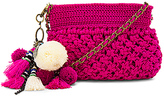 Elliot Mann Dune Eve Crossbody Bag in Fuchsia.