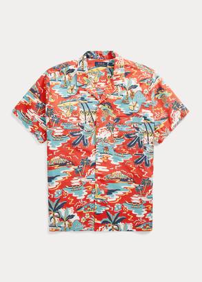 Ralph Lauren Stretch Cotton Pajama Shirt