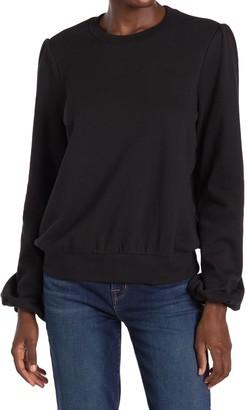 Joe's Jeans The Bouffant Sleeve Pullover Sweatshirt