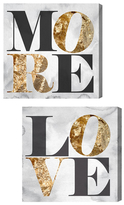 Oliver Gal Love You More (Set of 2) (Canvas)